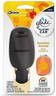 کیت استارت Freshener Air Glade PlugIns Car، نسیم هاوایی ، 0.11 fl oz