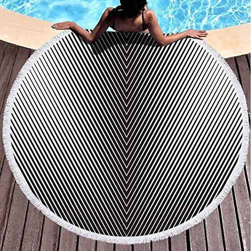 Toallas turcas Toalla para Playa Toalla de Playa única de 59,1 Pulgadas Toalla Altamente Absorbente para baño