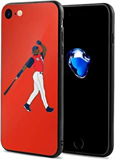 iPhone 8 Case Seattle Griffey Jr Home Run Derby Ultra-Thin Back Case Shock-Absorption Design Printed Pattern Silicone Bumper Cover for Apple iPhone 7/8