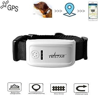 GPS Tracker, Hangang Localizzatore GPS Collare per Cani Perso in Tempo Reale con applicazione gratuita Lunga attesa 300h (...