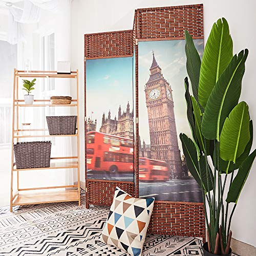 Room-Divider-Panels-Screen-Folding-Privacy-Screen-Wall-Decorative-Wall-Partition-Panel-Screen-with-Wood-Frame-Freestanding-Divider