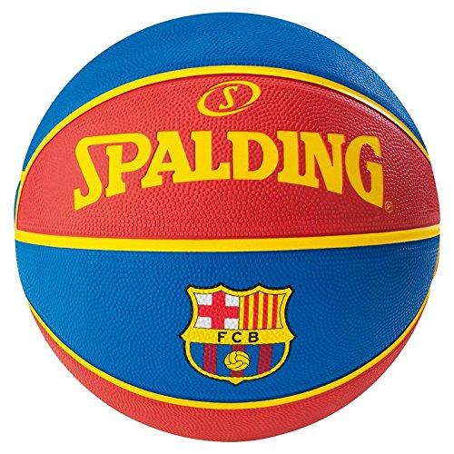 Spalding El Team FC Barcelona Sz.7 (83-117Z) Balón de Baloncesto, Hombre, Azul (Royal), 7