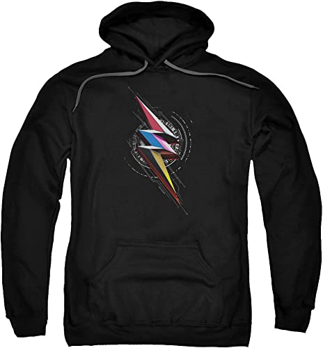 Power Rangers - - Sweat à Capuche Bolt Sigil pour Homme