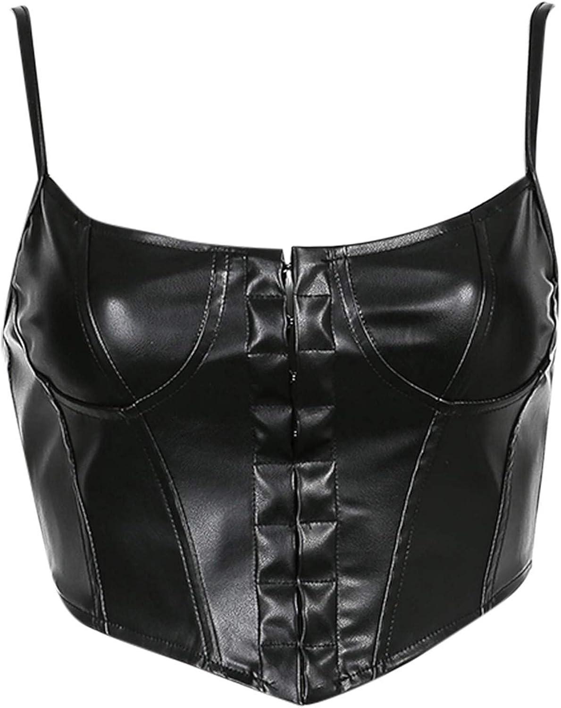 Womens Fashion Sleeveless All-match Sling Slim Short Umbilical Vest Camisole