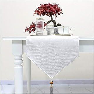 Maison classique Chemin de table en tissu avec Glands Décoration salle for le dîner fête de mariage pour la décoration de ...