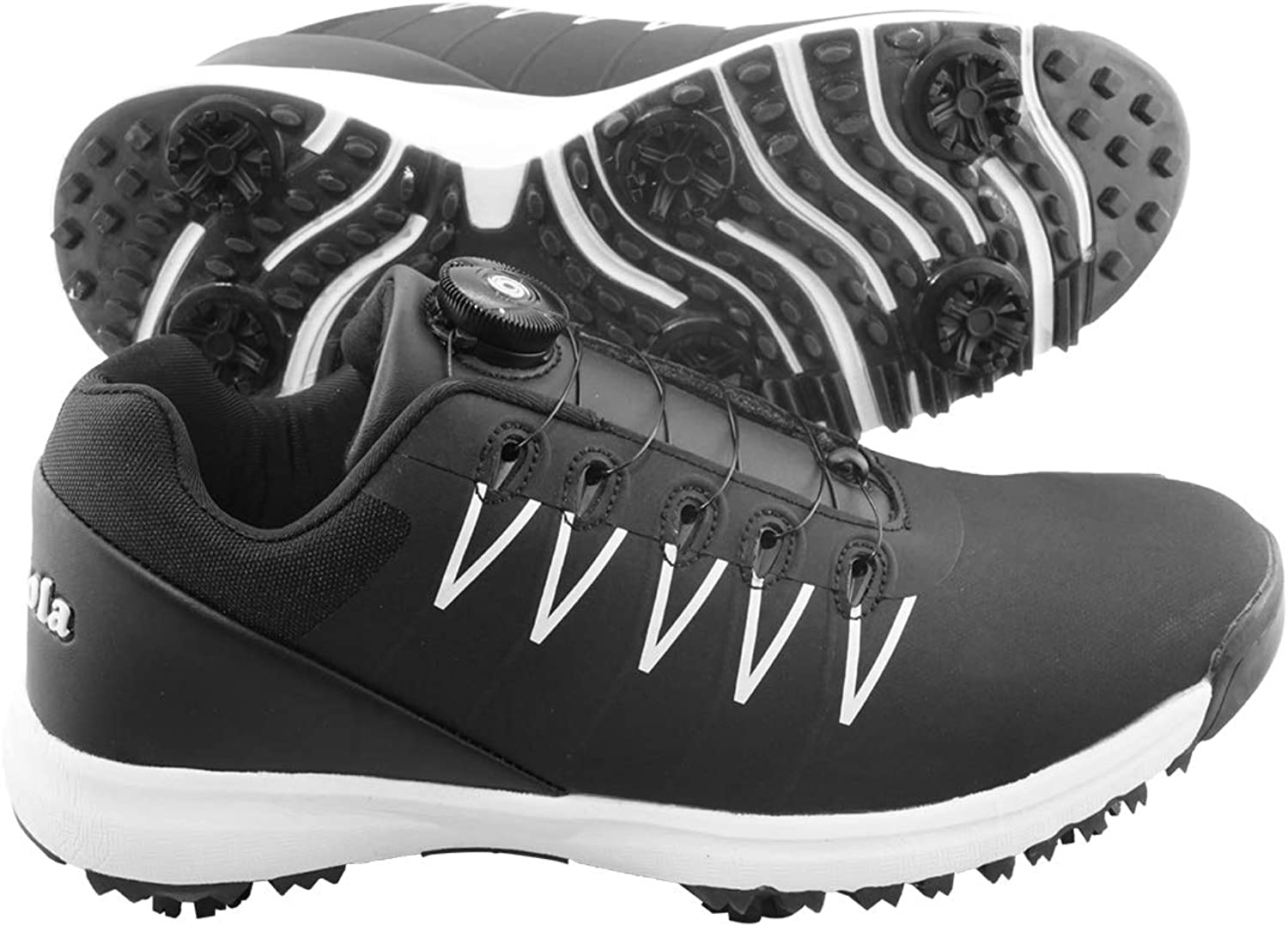 Special Campaign N\A Men High material Golf Shoes Women Waterproof Professional Sp Buttons Spin