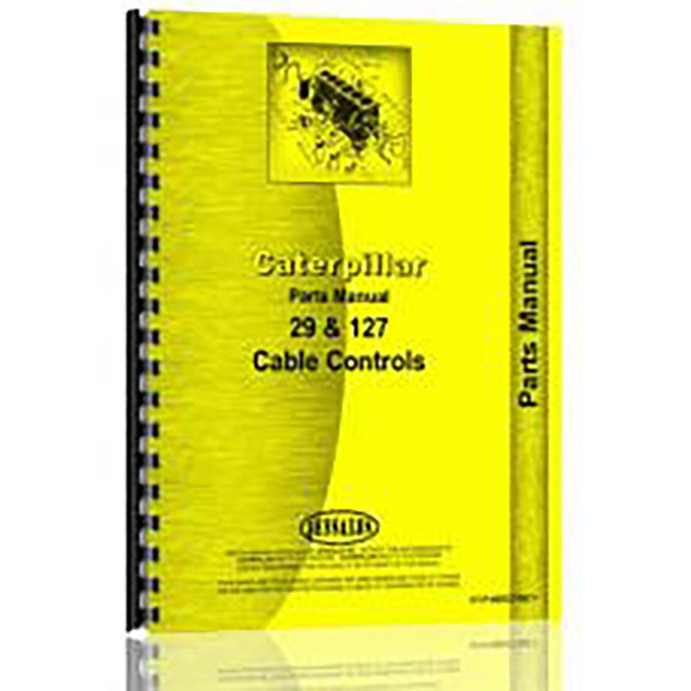Fits Caterpillar CC Courier shipping free shipping free 128 Manual Parts Attachment New