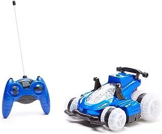 Mindscope Blue HoverQuad Radio Control RC Stunt Action Light Up LED Vehicle (49 MHz)