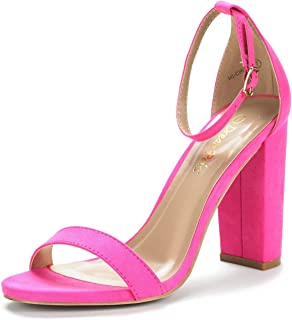 Women's Hi-Chunk High Heel Pump Sandals