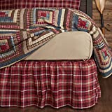 VHC Brands Braxton 29192 Bed Skirt, King