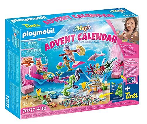 PLAYMOBIL Magic Calendario de Adviento Sirenas diversión en el baño, A partir...