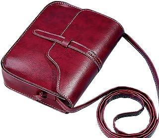 Fanspack Women Shoulder Bag Fashion Vintage Flap Cover Shoulder Purse Messenger Purse