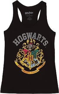 HARRY POTTER Distressed Hogwarts Crest Juniors Tank Top