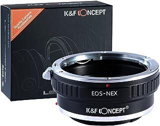 [正規代理店]K&F キャノン EOS EF(EF-S)レンズ-SONY NEX Eマウントアダプター レンズクロス付 ef-nex (KFNEX)