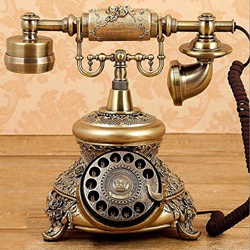 GFL Estilo Americano Teléfono de la antigüedad Teléfono con Cable Creative Teléfono...