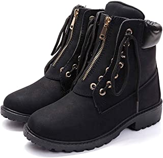 2018 Autumn Winter Martin Boots Female Classic Casual Shoes Flat Women's Boots