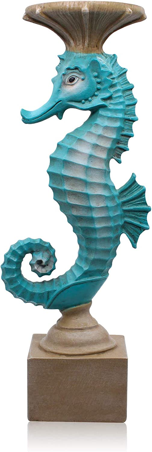 Seahorse Candle Holders for Candles Resin Antique D Fashionable Style Modern Challenge the lowest price