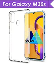 WOW Imagine Ultra Hybrid Shockproof Case | for Galaxy M21 / M30s | Flexible Protective Cushioned Edges Crystal Clear TPU Bumper Corners Back Case Cover for Samsung Galaxy M30s / M21 - Transparent