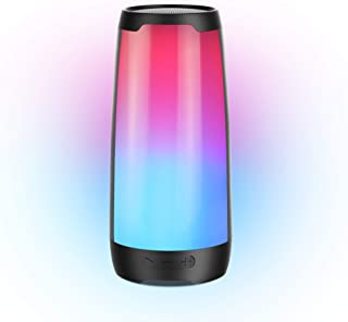 $69 » Sponsored Ad - Bluetooth Speaker, BUGANI Nebula 100 Portable Wireless Waterproof Speaker with Lights,6 Color LED Themes,Ri...