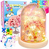 YOFUN Make Your Own Unicorn Night Light - Unicorn Craft Kit for Kids, Arts and Crafts Nightlight Project Novelty for Girl Age 4 to 9 Year Old, Unicorns Gifts for Girls