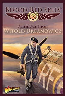 Blood Red Skies Allied Ace Pilot Witold Urbanowicz 1:200 Hurricane WWII Mass Air Combat War Game