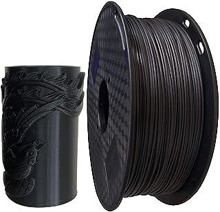 SHINA 3Dプリンター用フィラメント PETG プリント材料 ブラック 炭素繊維 PETG フィラメント 1.75 mm 黒 1KG(2.2LBS) スプール 3Dプリンタ材料 ほとんどの3Dプリンターと互換性がある 造形材料 高精度 良質...