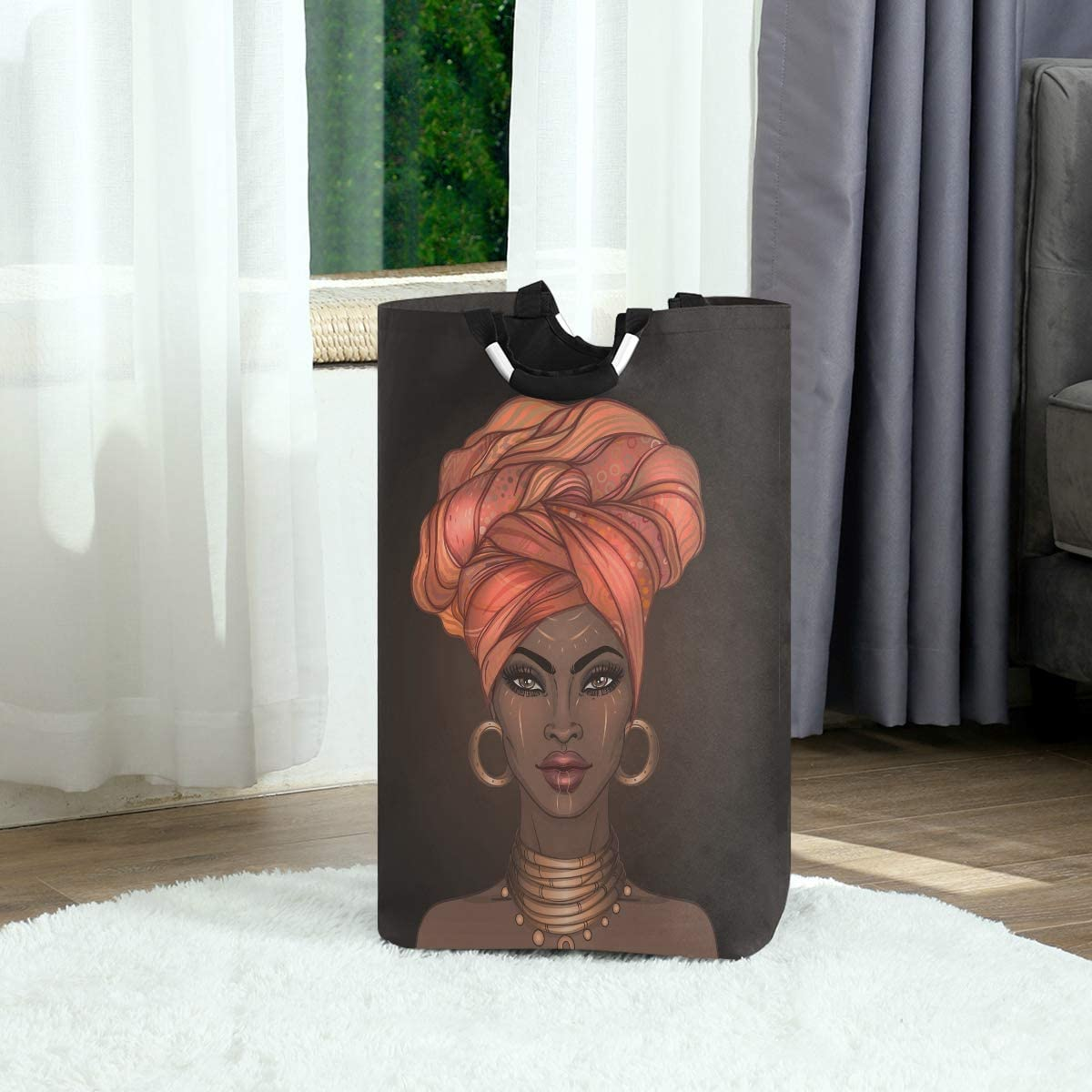 African American Brand Cheap Sale Venue Pretty Girl Large Washing Hampe Laundry Surprise price Baskets