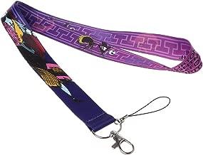 Tagaremuser carte didentit/à porta badge per cellulari Set di 8 cordini con brillantini e collane