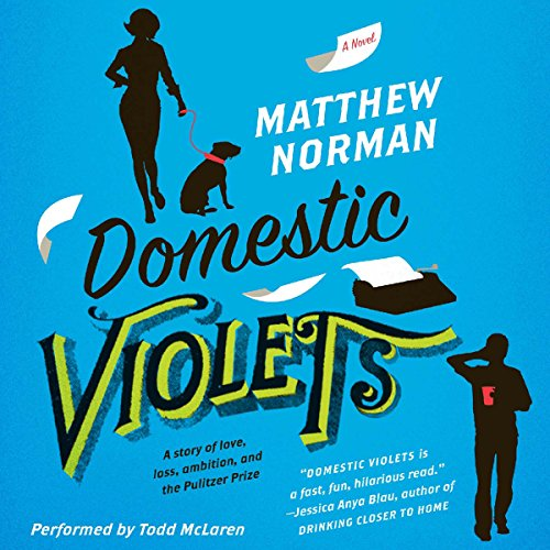 Domestic Violets audiobook cover art