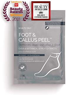 BeautyPro FOOT and CALLUS PEEL, Exfoliating Foot Peeling