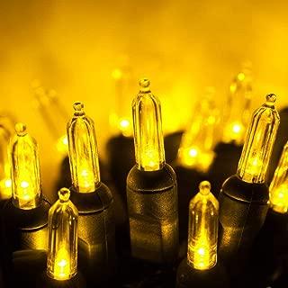 led christmas lights gold