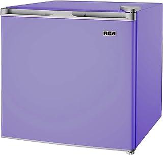 1.6-1.7 Cubic Foot Fridge, Purple (Renewed)
