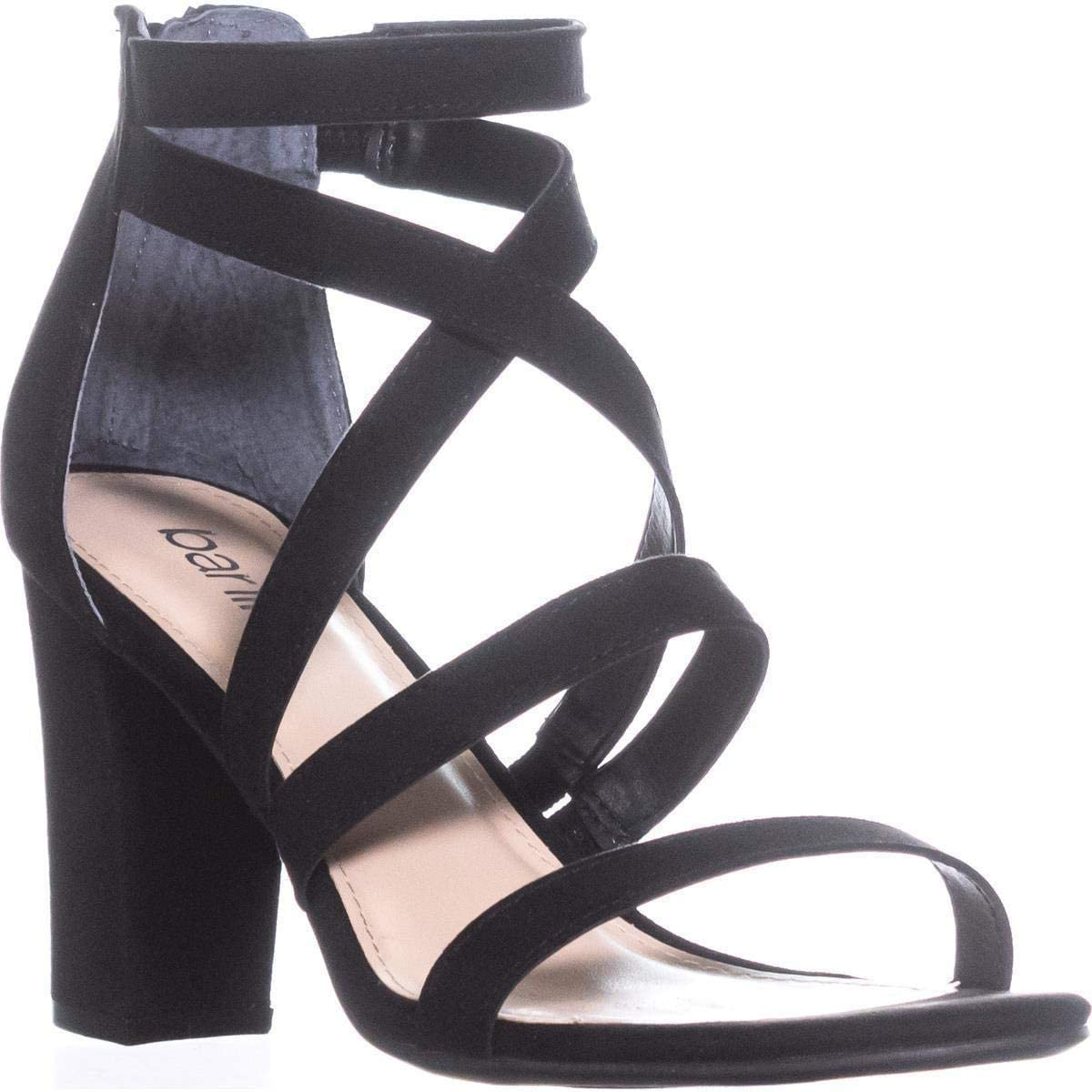 bar III Womens Blythe Open Toe Special Occasion Strappy Sandals
