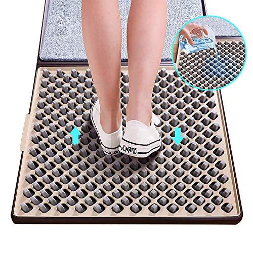 csqq Desinfektionsmatte, für Schuhe, vordere Tür, automatische Reinigung, Desinfektion, für den Einstieg