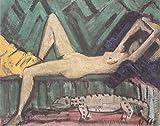 Das Museum Outlet–Otto Mueller–Akt auf dem Sofa liegend–ca1920–Nach 1925, gespannte Leinwand Galerie verpackt. 96,5x 121,9cm
