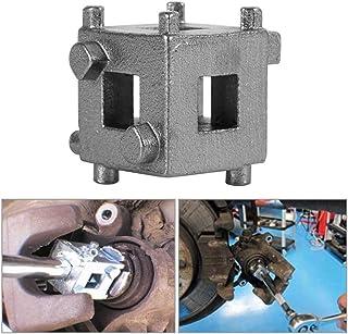 XQxiqi689sy Rückstelladapter für Scheibenbremse und Kolben, Karbonstahl Einheitsgröße silber