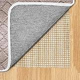 Non Slip Area Rug Pad 7 x 10 Ft. Carpet Hardwood Floors Anti Skid Soundproof Under Felt Thin Runner...
