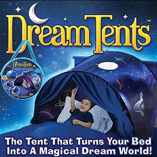 Traumzelt Bettzelt Spielhaus Zelt Spielhaus Erscheinen Dream Tents Drinnen Kinder Spielen Zelt Kinder (Weltraumabenteuer) Licht ist Nicht Enthalten