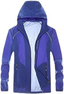 Men's Lightweight Jackets Windbreaker Jacket UV Protect Running Coat