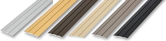 , matt geschliffen 50 x 1000 mm Edelstahl /Übergangsprofil selbstklebend 50 x 1000 mm matt geb/ürstet 1, 0 mm