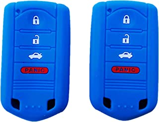 M3N5WY8145 QualityKeylessPlus Protective Silicone Rubber Keyless Entry Remote Fob Case Skin Cover for select 4 Button Acura Remotes FCC KR5434760