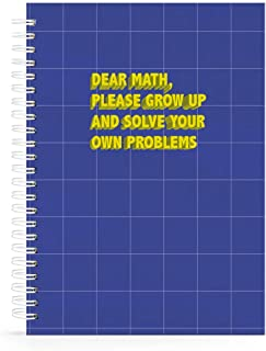 A4 Math Notebook 100 Lined Sheets by Cube Store