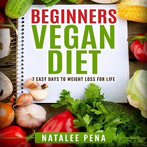 Vegan: The Beginner's Vegan Diet for 7 Easy Days to Permanent Weight Loss audiobook cover art