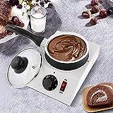 YXZN Chocolate Pot Melting Machine Schokobrunnen Schokofondue Set Non-Stick...