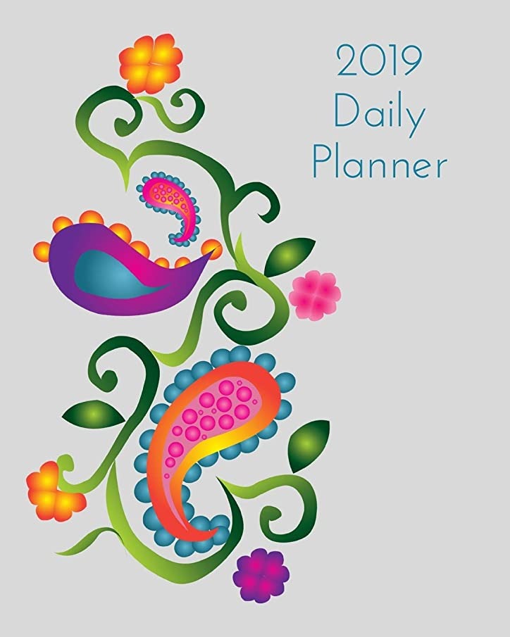 2019 Daily Planner: Paisley