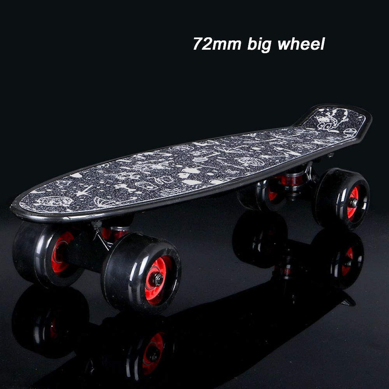 ZXCVB Skateboard Retro Cruiser Board Anfänger Kind Erwachsene Teen Road Pinsel Street Scooter Geschenk B07JVB5362  Für Ihre Wahl