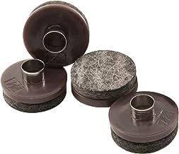 Almofadas de feltro resistentes para móveis de madeira e superfícies rígidas – Proteja suas superfícies de piso rígido de ...