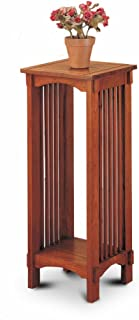 The Furniture Cove Solid Oak Mission Style Plant Stand