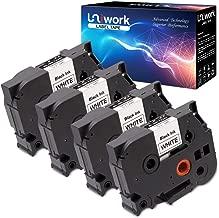 Uniwork Compatible P-Touch for Brother TZe-241 TZe241 TZ-241, 18mm X 8m (3/4