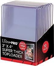 Ultra Pro 2 180pt Top Loader Packs - 10 Toploaders Per Pack (20 Total) - Thick Baseball, Basketball, Hockey, Football Card...